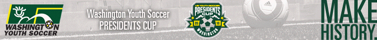 2016 WA Youth Soccer Presidents Cup banner